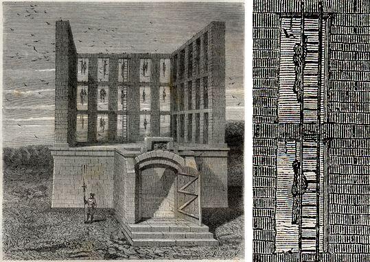 Le Gibet de Montfaucon (H.Martin, Hist. de France, 1886) - Yan Dargent