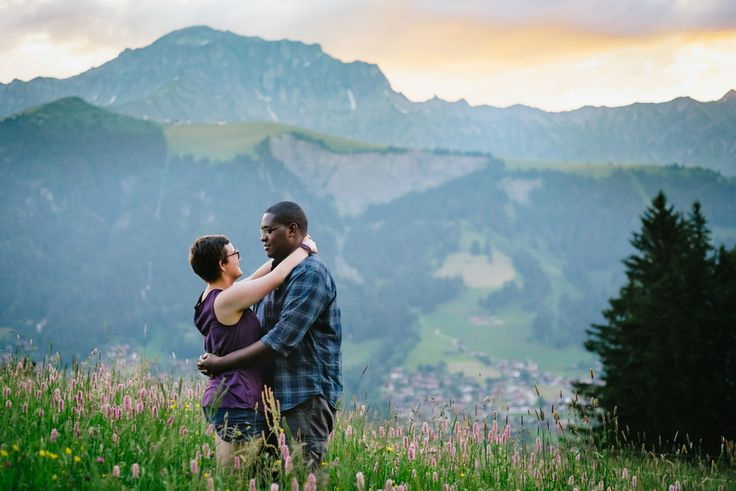 Chloe & Myles - Anniversary Session in Adelboden, Switzerland.