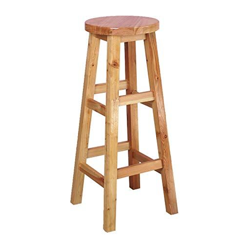 Xlcz Round Bar Stool Open Back Counter Stool 24in Home High Stool Seat Surface Smooth And Environmentally Fr Bar Stools Round Bar Stools Bar Stools For Sale