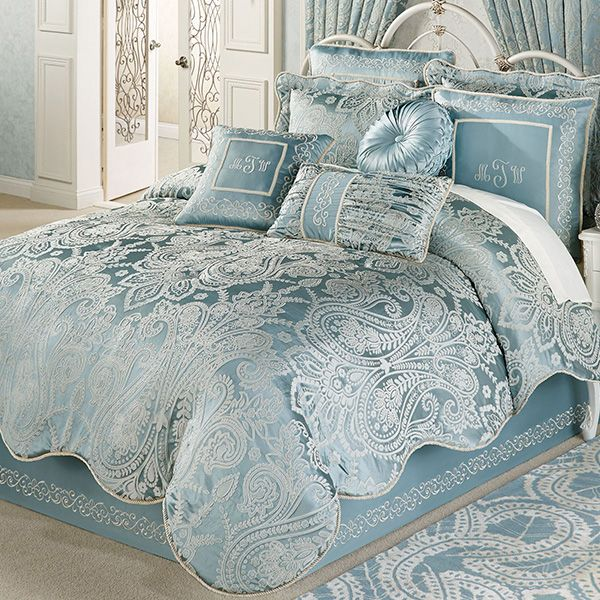 Regency Parisian Blue Comforter Bedding Bed Comforters Blue Comforter Comfortable Bedroom