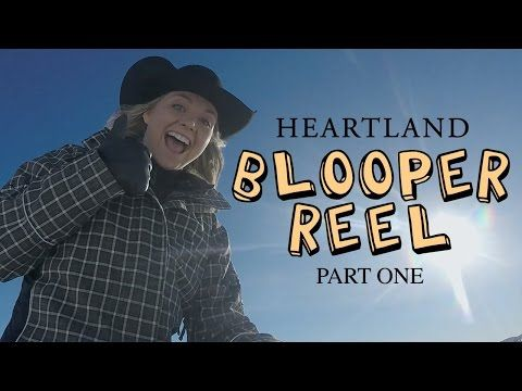 Season 9 Bloopers Part One | Heartland | CBC - YouTube