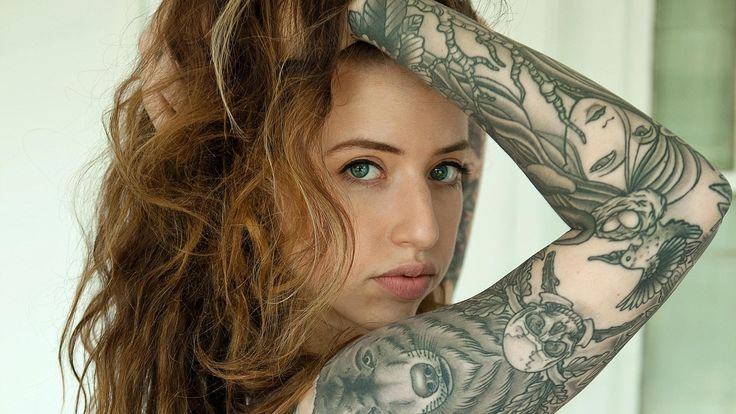 41 Best Tattoed Babes Images On Pinterest  Tattooed Guys -3233