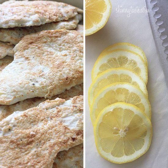 Chicken Francese – Lightened Up | Lighter and Chicken
