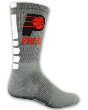 Custom Personalized Basketball Socks - Bar Bat Mitzvah Party Favor Socks by Cutie Patootie Creations