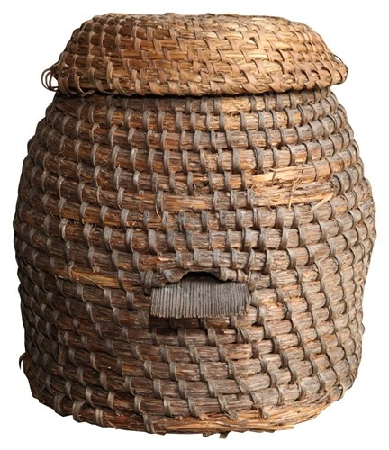 I would love a bee skep for my fruit trees and for the bees.