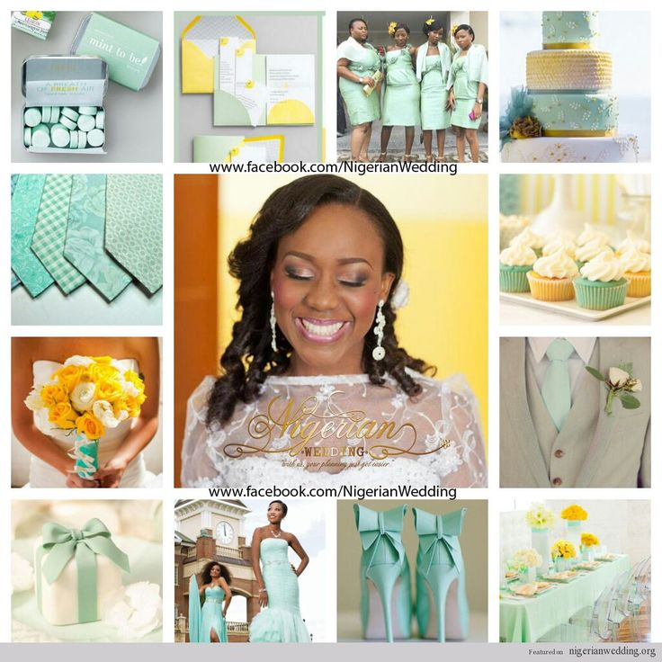 Wedding Website Domain Name Ideas: 17 Best Images About Nigerian Wedding Color Schemes
