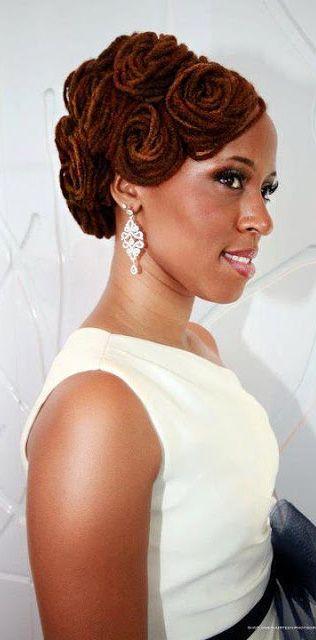 Stupendous 1000 Ideas About Dreadlocks Updo On Pinterest Locs Dreadlocks Short Hairstyles For Black Women Fulllsitofus