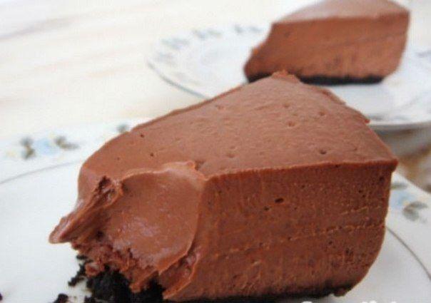 Диетический шоколадный чизкейк*Энергетическая ценность на 100 г — 110,2 ккал, б -… | СвежачОК ☺
