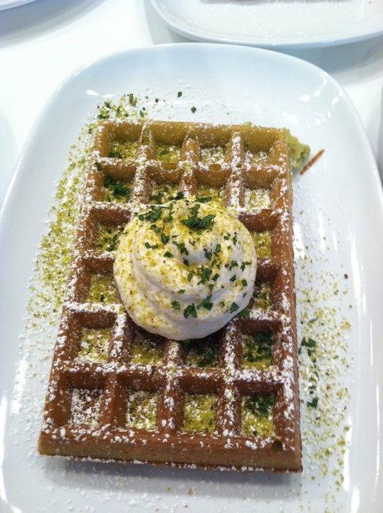Waffles Chicago - Green tea #waffle