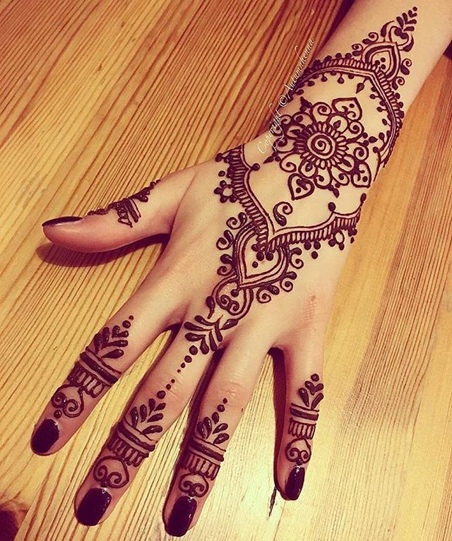 Beautiful Henna Tattoo Designs For Your Wrist: 17 Best Images About My Henna Designs On Pinterest