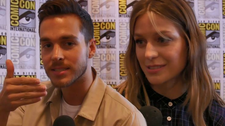 Chris Wood Reveals Kissing Tips With Melissa Benoist & Cast Plays Supergirl Game - YouTube