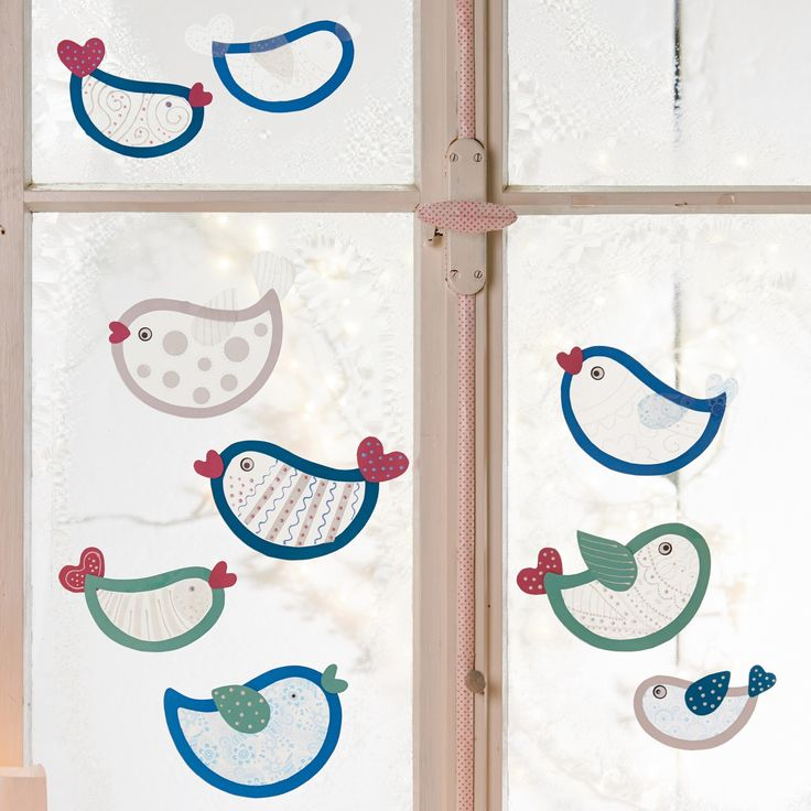 Wintervögel, Bastelset für 10 Stück online bestellen - JAKO-O