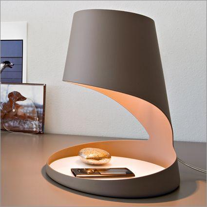 Evo Table Lamp: Armando D Andrea for Calligaris