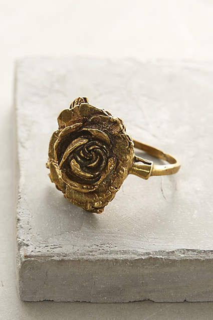 Wild Rose Ring - anthropologie.com