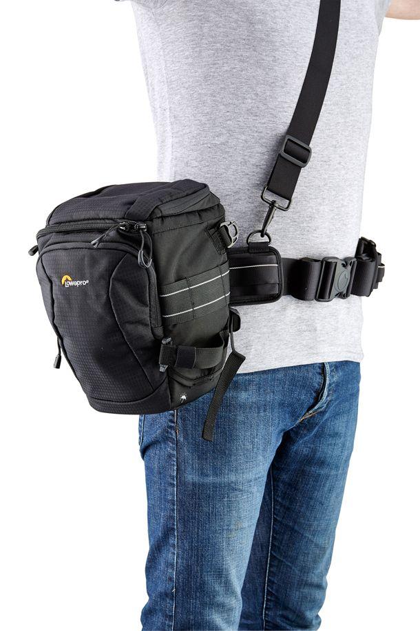Best camera clips: 02 Lowepro S&F Light Utility Belt & Toploader Pro 70 AW II