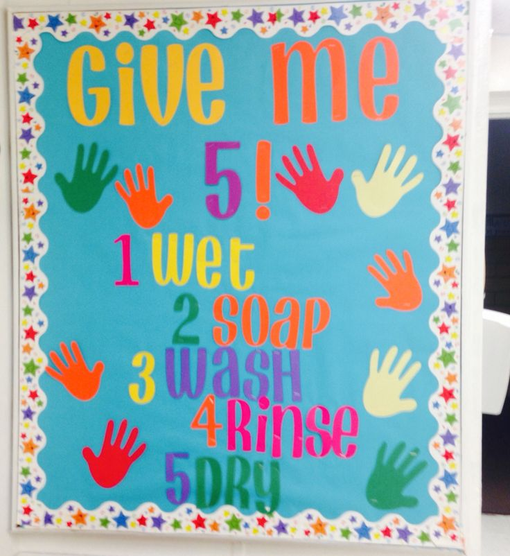Hand Washing Bulletin Board For My K 4 School