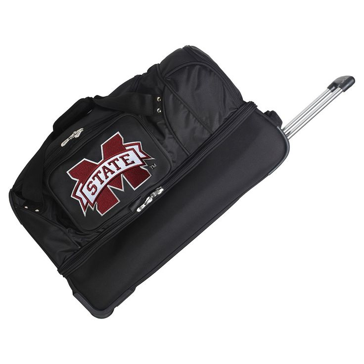 NCAA Mississippi State Bulldogs 27'' Rolling Drop Bottom Duffel