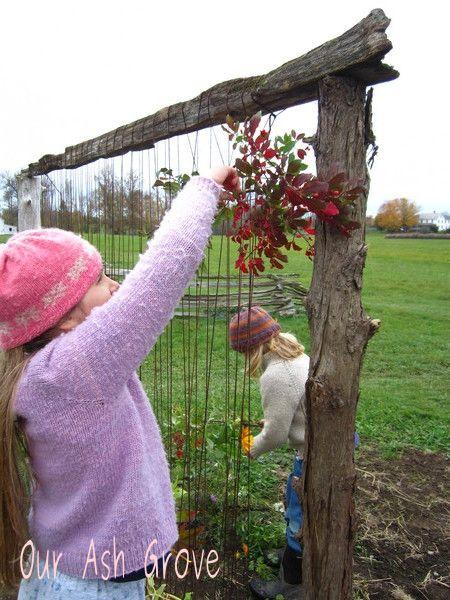 "Gorgeous earth loom - weaving nature fora full sensory experience ("",)"