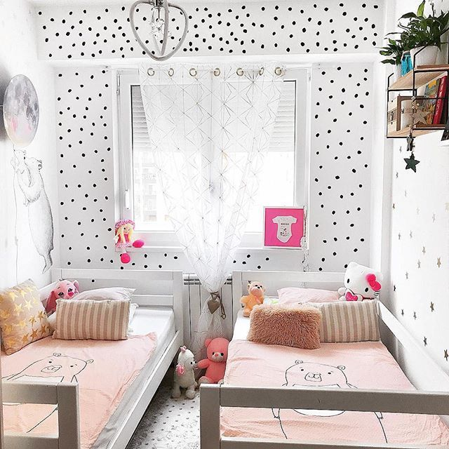 Pastel Shared Bedroom Twin Girl Bedrooms Shared Girls Room Shared Girls Bedroom