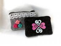 Výrobky z textilu: Filcová peňaženka