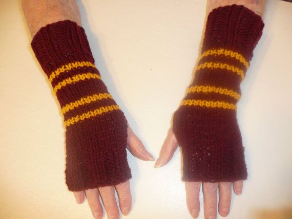 Gryffindor Wrist Warmers,56 Totally Wearable Harry Potter-Themed Accessories