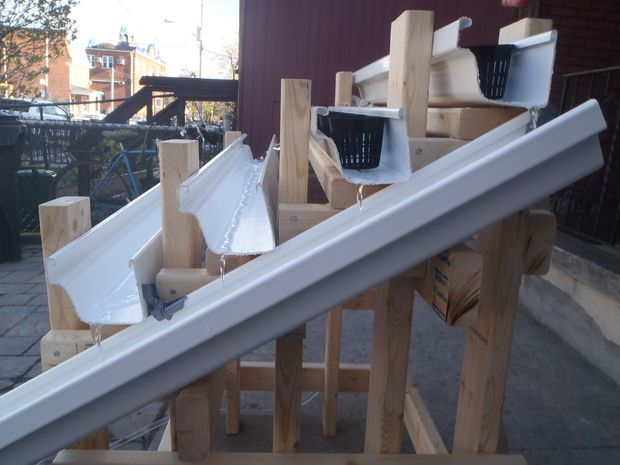 DIY Hydroponics using PVC gutter (prototype)