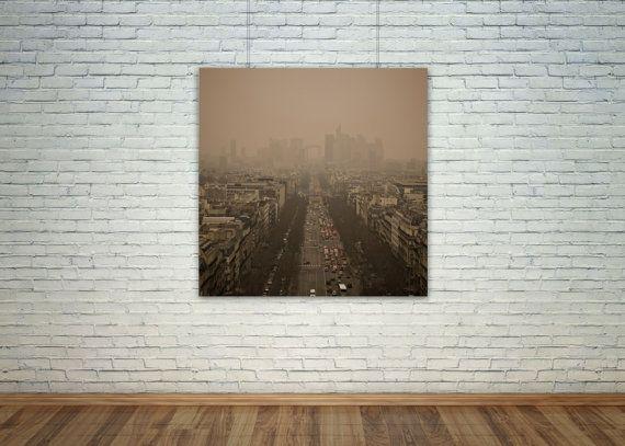 Veduta invernale di Parigi 2013  Fotografia stampata di mercury8