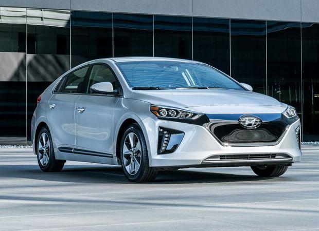 cool Hyundai Prices the 124-Mile Ioniq EV at $29,500