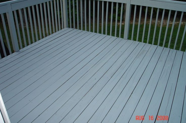 Gorgeous Opaque Deck Stain