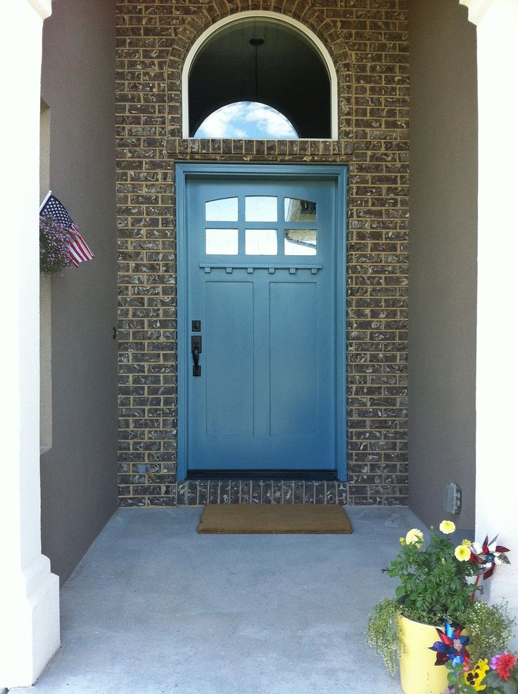 Love This Color For My Front Door Refuge From Sherwin Williams Perfect Coastal Blue