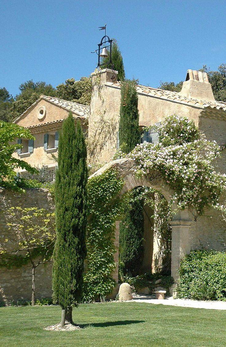 Authentic sixteenth century priory in Saumane de Vaucluse.