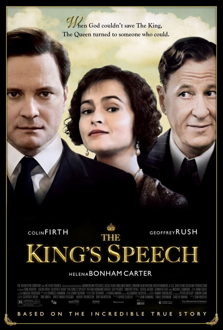 Great movie... The King's Speech