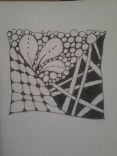 Zentangle..prvotinka
