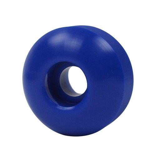 Blue BLANK Skateboard WHEELS 50mm (Set of 4)