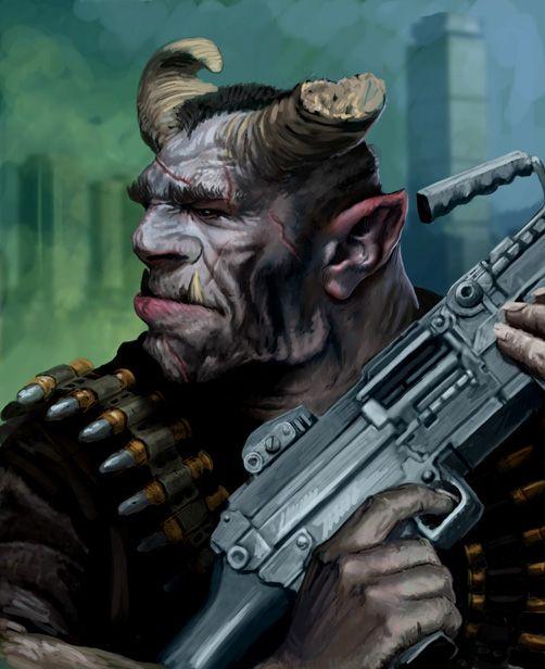 shadowrun troll by ~Perun-Tworek on deviantART