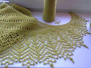 Olive garden shawl free pattern