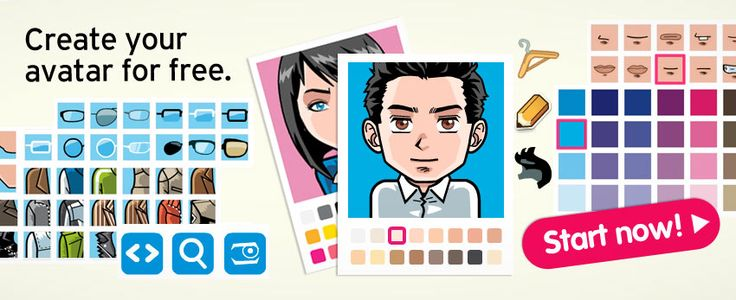 Create an avatar for yourself. for the characters in the books your class is reading. for your students. :) Fun.
