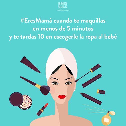 Jajajaja no sabemos por qué pasa ¡Pero muchas mamás se encuentran en la misma situación! ¿Te ocurre lo mismo?  https://www.babytuto.com
