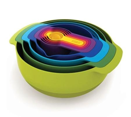 Nest 9 Plus- Everything you need that fits in one bowl: Cant Wait, Mixed Bowls, Simple Nests, Kitchens Ideas, Nests Bowls
