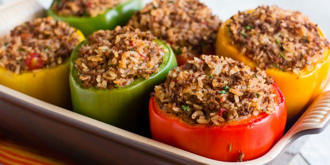Stuffed Peppers For Instant Pot Silikong Peppers Recipes Stuffed Peppers Bell Pepper Recipes
