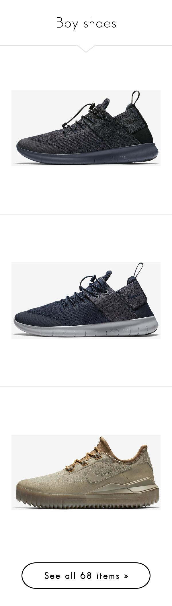 """""""Boy shoes"""" by ariana-bens ❤ liked on Polyvore featuring men's fashion, men's shoes, men's sneakers, black, mens black lace up shoes, mens rubber sole shoes, mens black slip on shoes, mens slip on sneakers, mens black shoes and grey"""