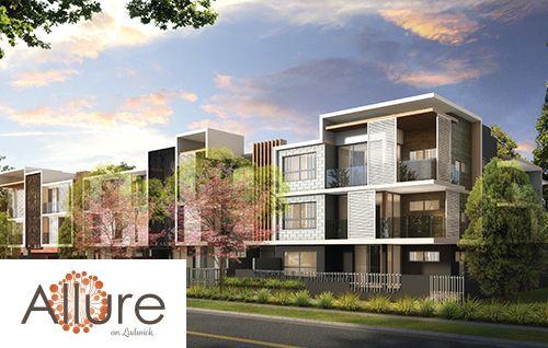 External Render of Allure on Ludwick New Development