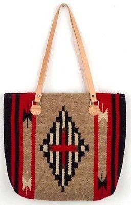 13 Handwoven Wool Tribal Southwest Bag Tote | eBay
