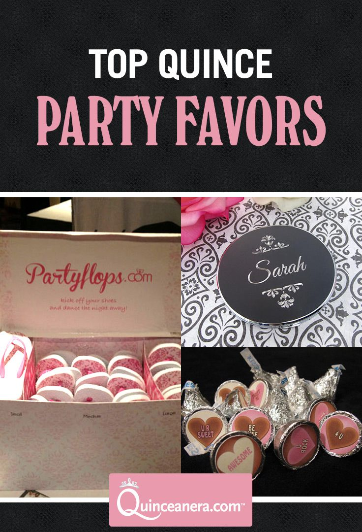The Best Party Favor Ideas for your Quince <3 | Quinceanera Favors | Party Favors Ideas | Party Favors DIY |