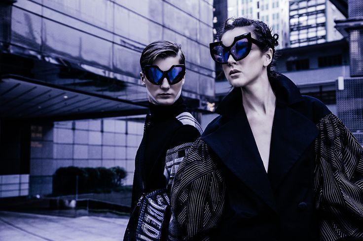 #FAKBYFAK Circumstellar sunglasses in limited edition available at #sunglasscurator.com