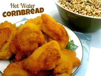 Cooking with K | Southern Kitchen Happenings: Old Fashioned Hot Water Cornbread {Granny's Recipe}