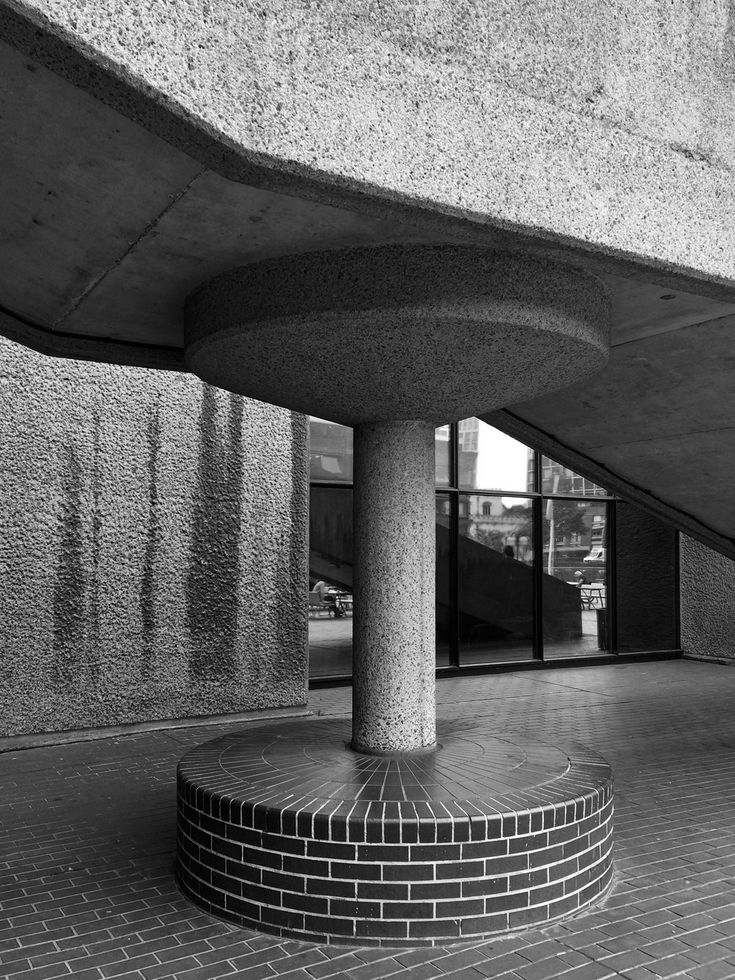 BARBICAN ESTATE | CITY OF LONDON | LONDON | ENGLAND: *Construction: 1965-1976; Officially Opened: 1969; Architects: Chamberlin, Powell and Bon; Grade II Listed*