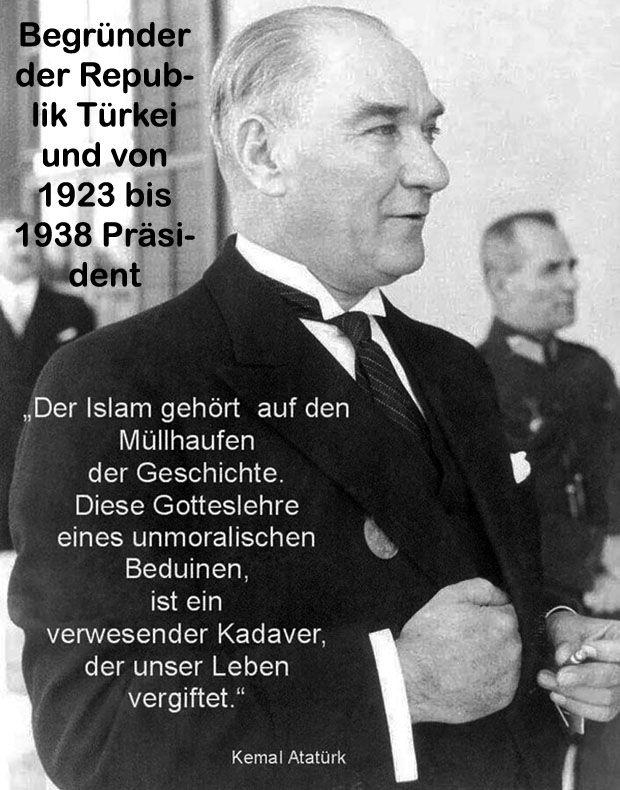 Der Islam ist keine Religion, sondern eine islamische Staatsdiktatur auf Basis des Koran mit der Scharia. Ihre Freiheiten und Ihr normales Leben sind vorbei, sobald der Islam die Mehrheit hat, oder glaubt stärker zu sein, als unsere Gesellschaft. Sie glauben das nicht. Nachfolgend lesen Sie die islamischen Einschränkungen auf Basis des Koran und der Scharia. Und genau das kommt auf Sie zu!