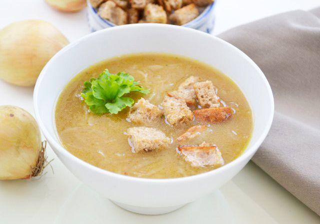 Die #Zwiebelsuppe ist ein altes Rezept aus dem Burgenland.