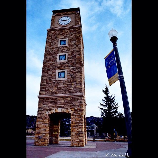 Fort Lewis College sits above the beautiful town of Durango with gorgeous mountain views!   k.niemtschk_2